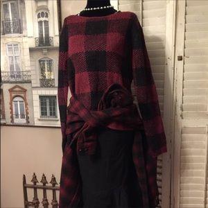 Plaid GAP sweater